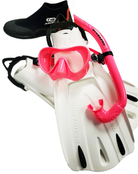 Scubapro Trinidad & Apnea Travel Package - Pink