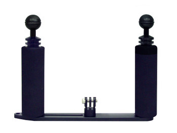Big Blue GoPro Dual Tray w/ Grips