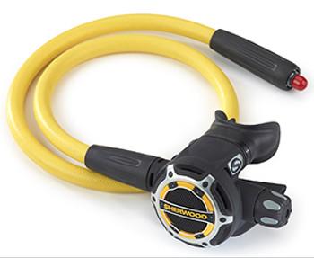 Sherwood SR2 Octopus Backup Regulator with low pressure hose