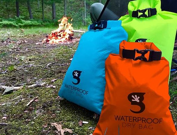 Gecko compression dry bag - keep things dry