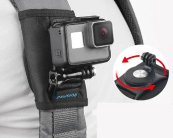 GoPro Camera - Chest or Strap Mount - for BCD or backpack