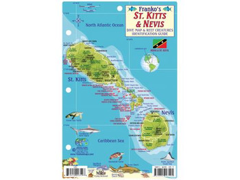 Waterproof Fish ID Card - St Kitts & Nevis