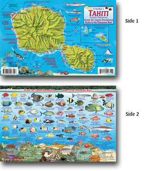 Tahiti French Polynesia Fish ID Card