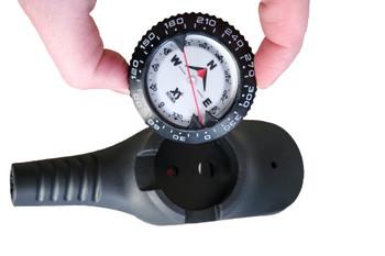 Underwater compass module fits the XS Scuba GA201 console gauge
