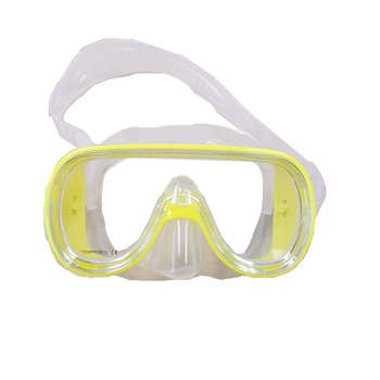 Kid's Snorkeling Mask - Yellow