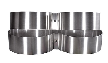 """Tank Bands Stainless Steel 7.25"""""""
