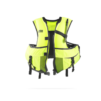 Jacket Style snorkel vest inflated
