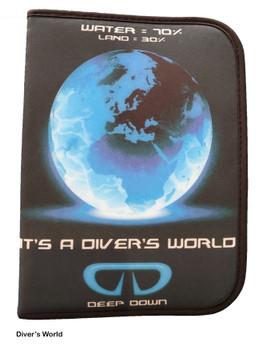 Diver's World - Log Book Binder