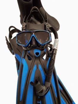 Tusa Ceos Diving Package - Black / Blue