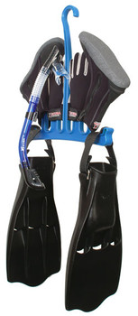 Hanger for neoprene boots, gloves, hood, fins