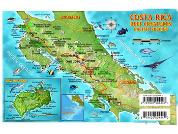 Waterproof Fish ID Card - Costa Rica Pacific