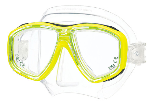 Tusa Ceos Mask - Yellow