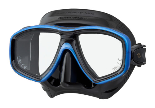 Tusa Ceos Mask - Black / Blue