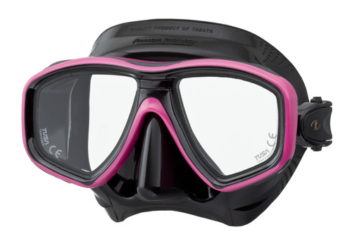 Tusa Ceos Mask - Black / Pink