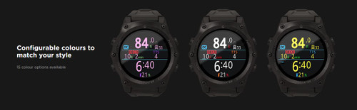 Shearwater Teric Dive Computer - Watch Style/Color Options