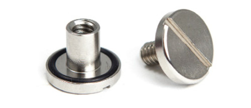 Book Screws / Sex Bolts - For scuba diving wing and backplate system