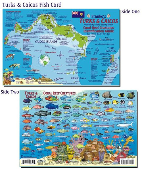 Waterproof Fish ID Card - Turks & Caicos