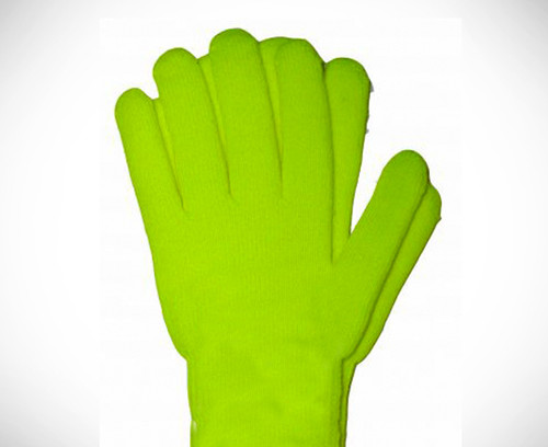 Thick Cotton Yellow Gloves for Drysuit Dry Gloves
