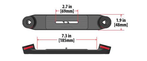 Flex Connect Dual Tray Dimensions