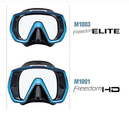Tusa Freedom Elite & HD Comparison