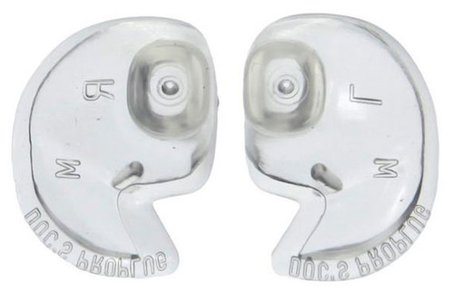 Doc's Pro Plugs - Pin holes allow for ear equalization while snorkeling or scuba diving