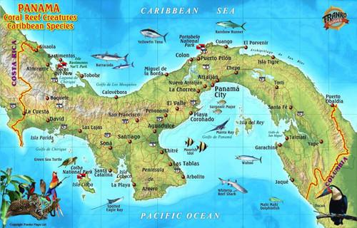 Panama Caribbean - Franko Fish Card