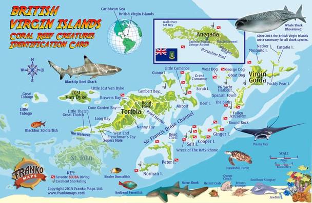British Virgin Islands Card
