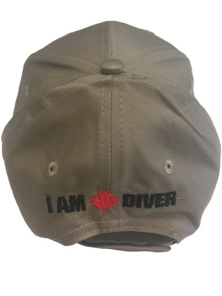 I Am Canadian Diver ball cap