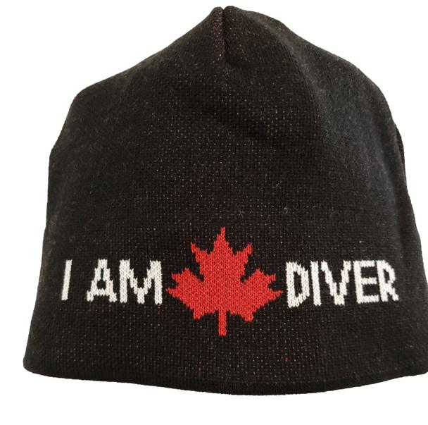 I Am Canadian Diver Toque