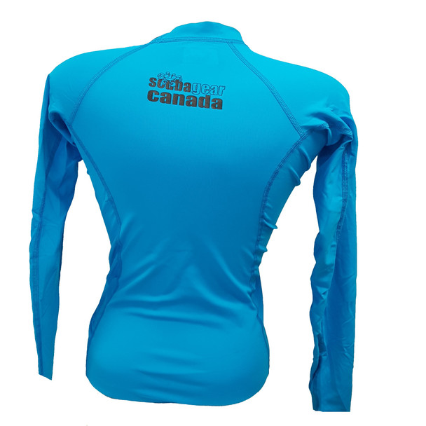 Blue Rashguard - Back