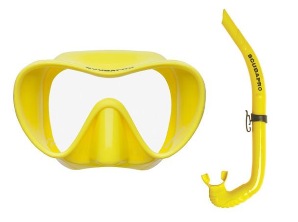 Trinidad / Apnea Free-Diving Set - Yellow