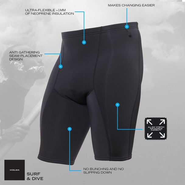 Wetsox Shorts Features