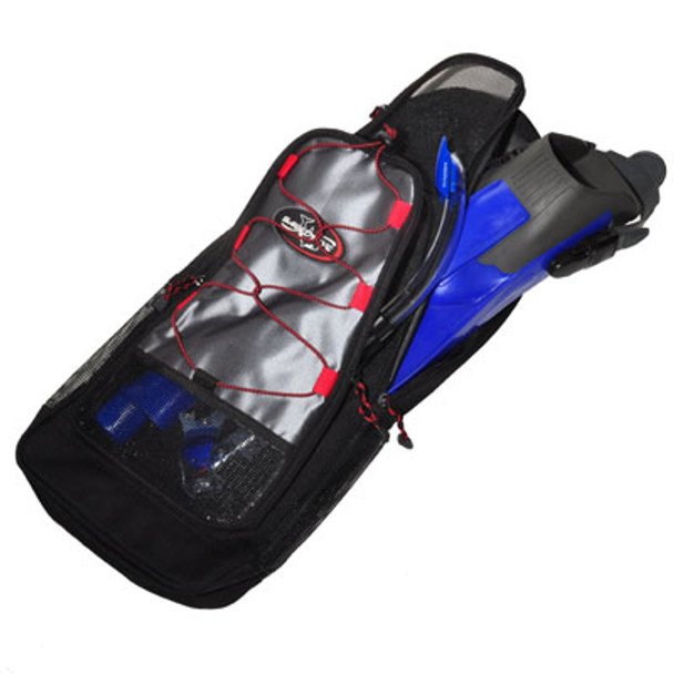 Snorkel Bag - Comfortably fits a mask, snorkel, and snorkeling fings