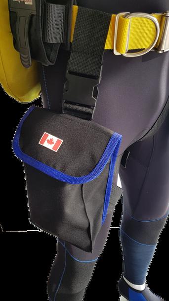 Thigh Storage Drop Pocket - Made in Canada