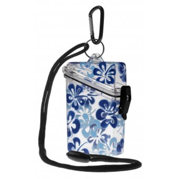 Credit Card Case - Blue Flower