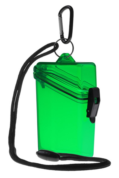 Credit Card Case - Green/Clear