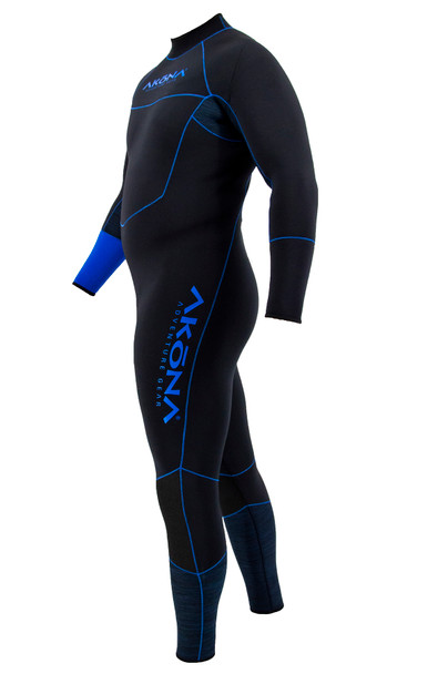 Quantum Stretch Wetsuit - Men's Blue