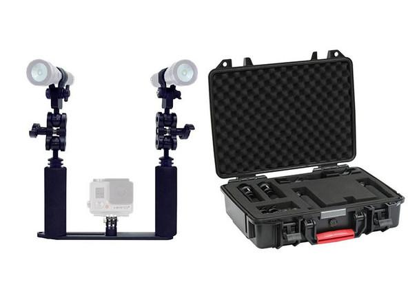 Big Blue GoPro Light Package