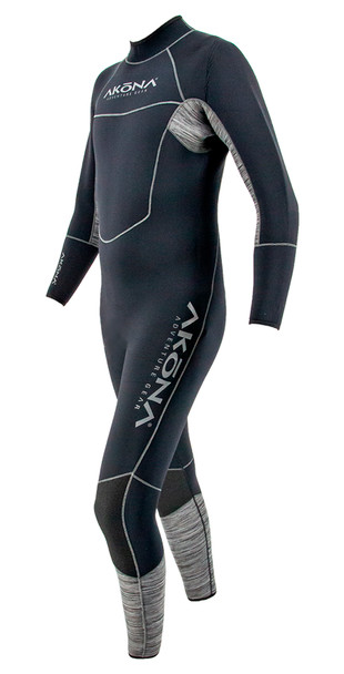 Akona 5mm Quantum Stretch Wetsuit - side view