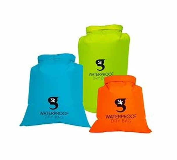 Gecko compression dry bag - 3 pack