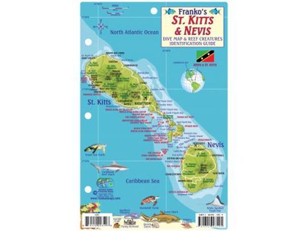 Waterproof Fish ID Card - St Kitts & Nevis