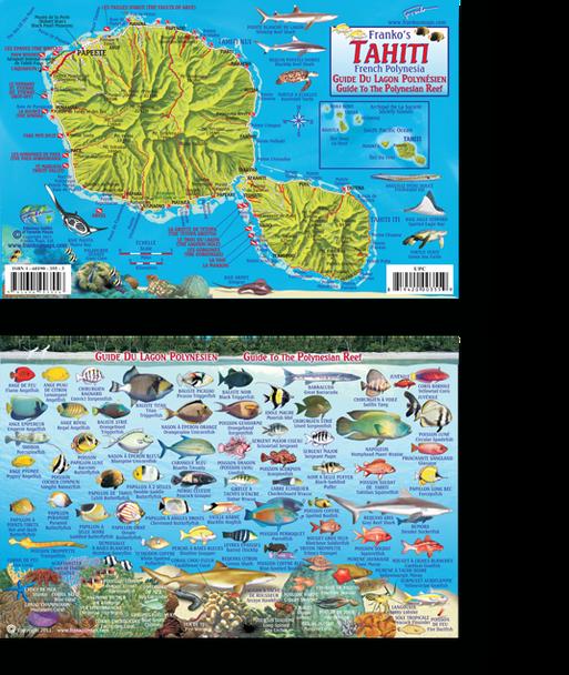 Tahiti French Polynesia Fish ID Card