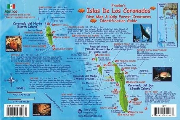 Waterproof Fish ID Card - Isla De Los Coronados