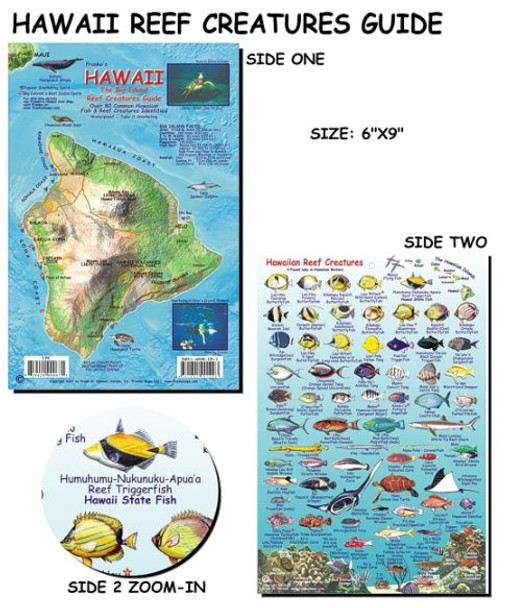 Waterproof Fish ID Card - Hawaii Big Island