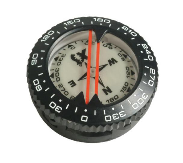 Underwater compass module