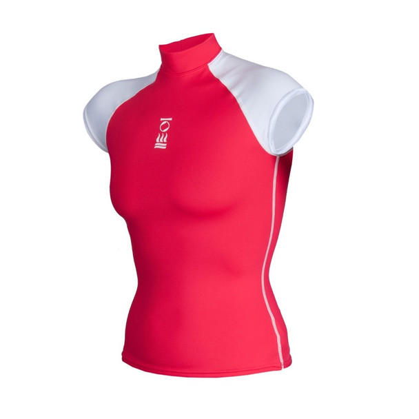 Short-Sleeve Rashguard - Red Front