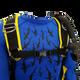 Adjustable chest and shoulder straps