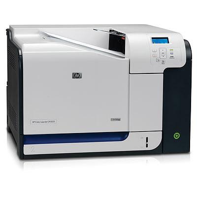 HP Color LaserJet CP3525n printer