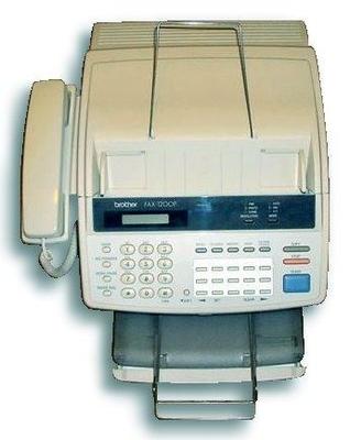 Brother Fax-1200P printer