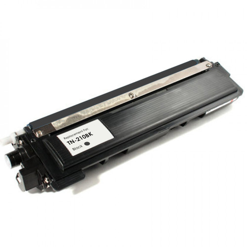 Remanufactured replacement for Brother TN210Bk black laser toner cartridge